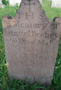 Samuel #1 tombstone